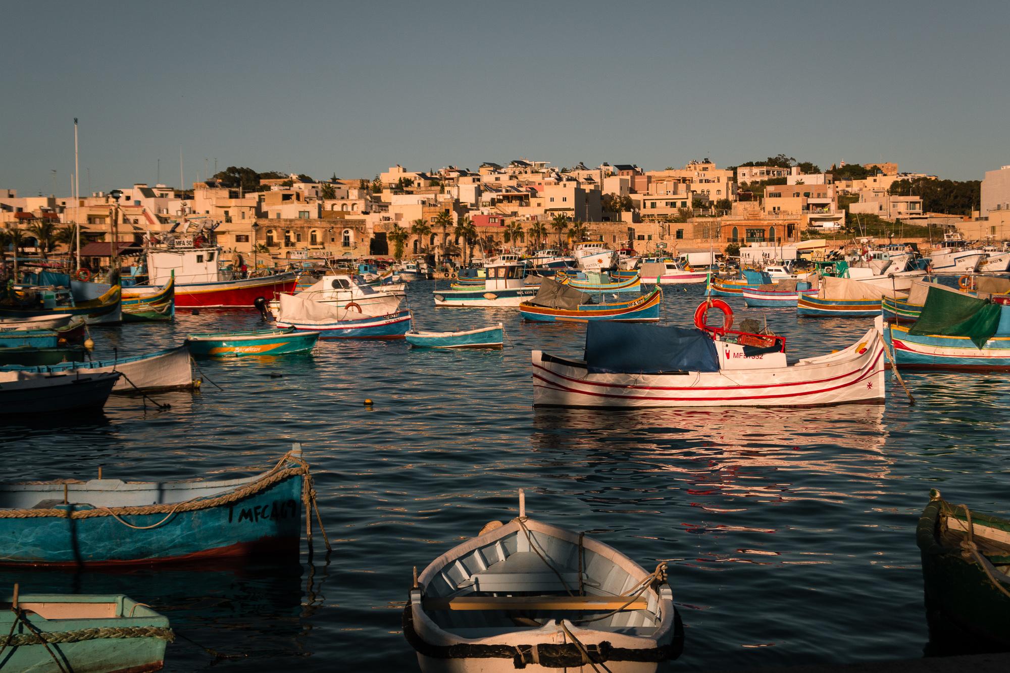 luzzi port de Marsaxlokk
