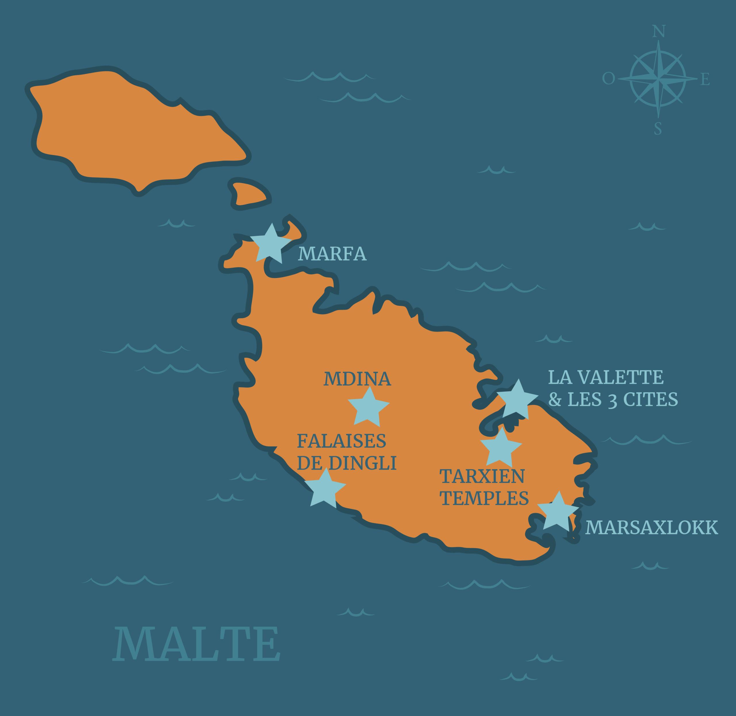4 jours à Malte
