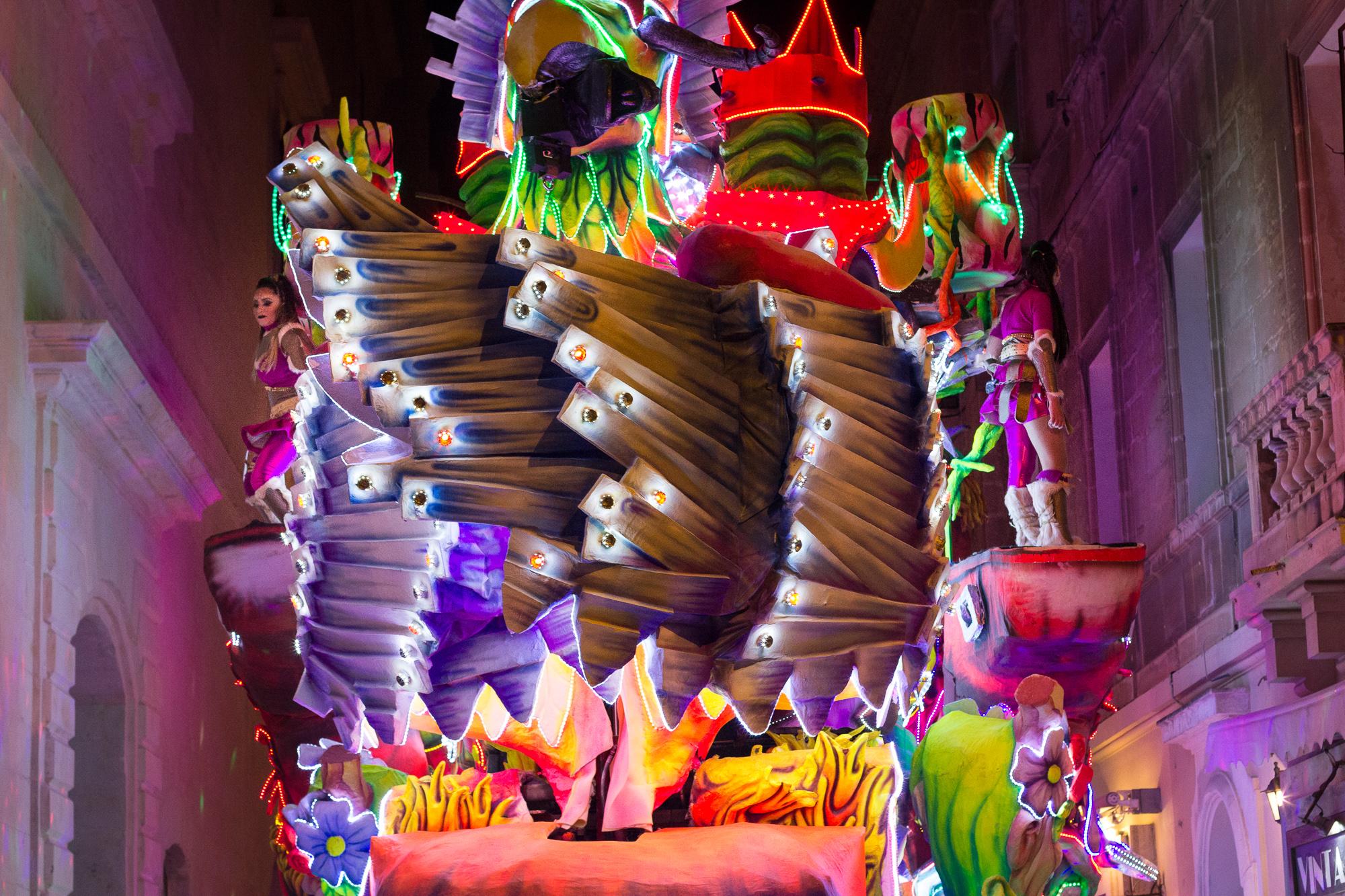 char fluo carnaval malte