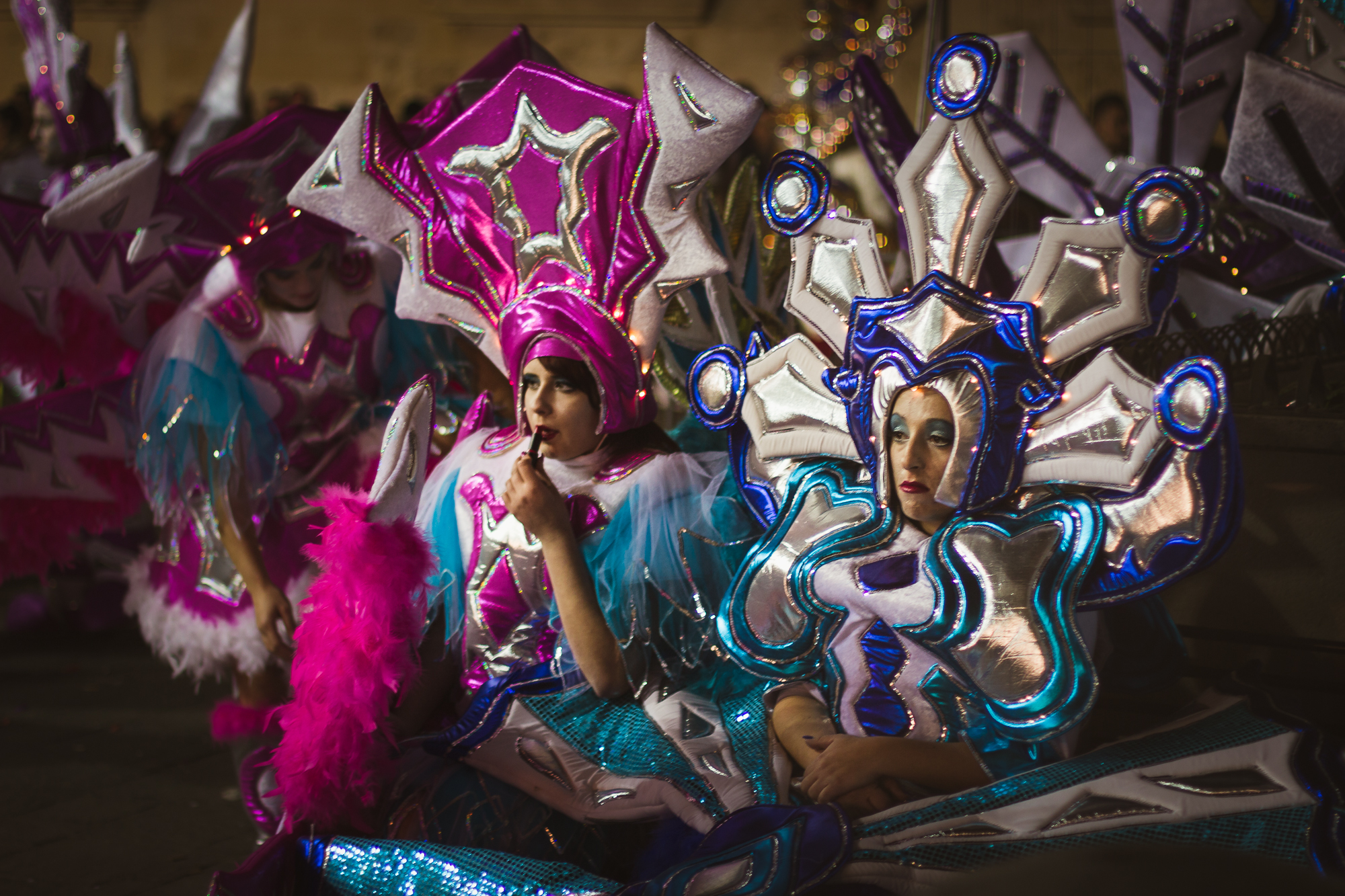 pause maquillage carnaval malte