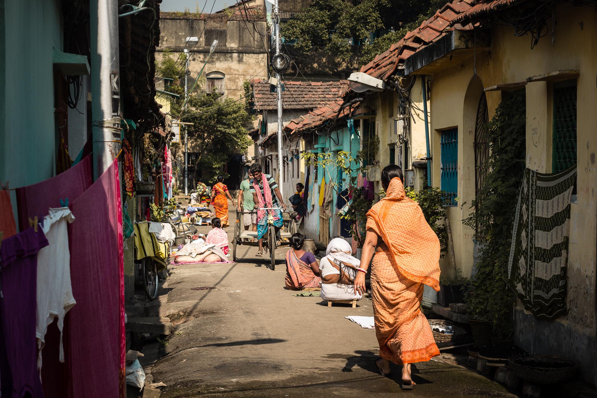 ruelle vieille ville calcutta