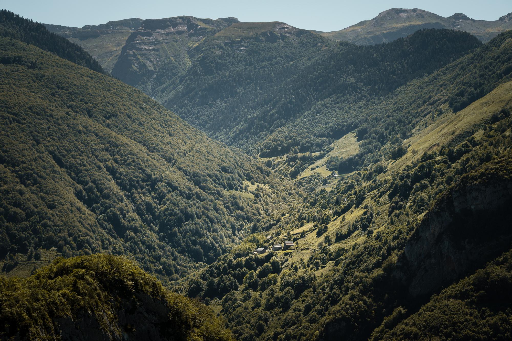 vallée d'aspe et montagnes pyrénées