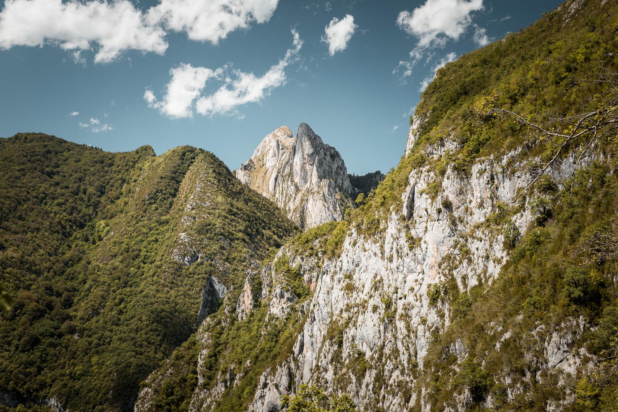 sommet vallée d'aspe pyrenees